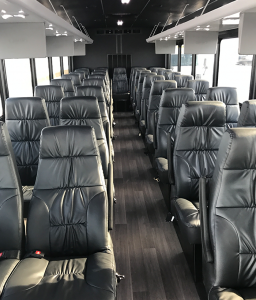 Chicago Executive bus interior